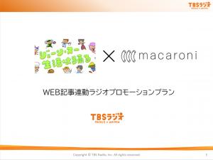 WEB記事連動ラジオプロモーションプラン
